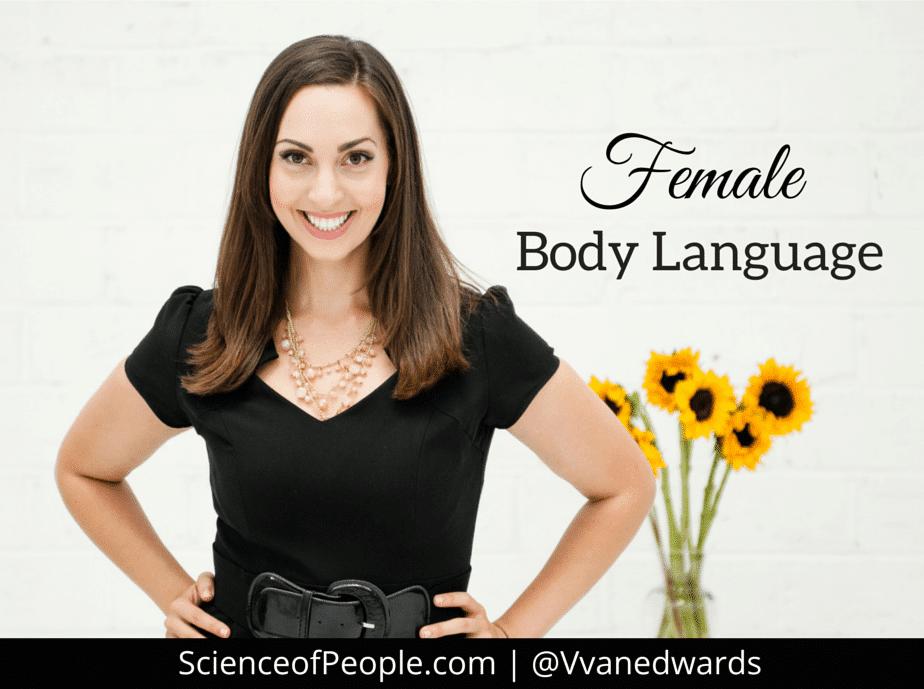 female body language, decode female body language
