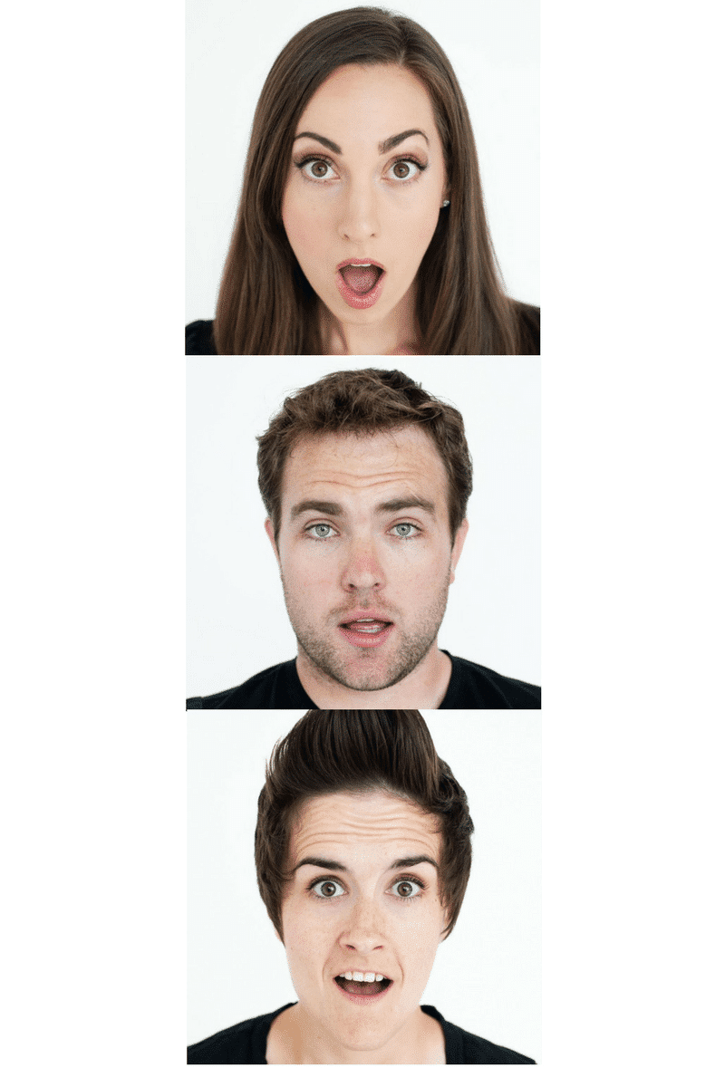 Surprise Microexpression