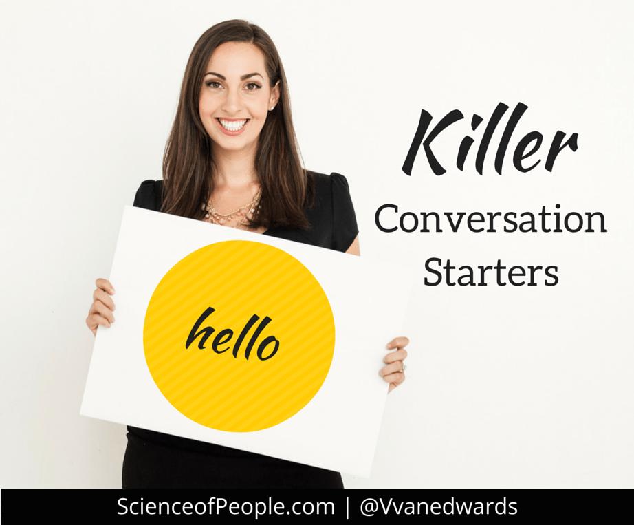 list of conversation starters