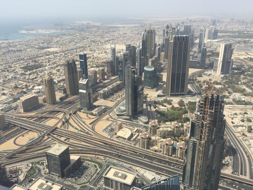 Burj Khalifa view