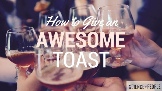 give a toast