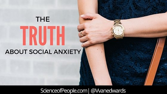 the truth about social anxiety, social anxiety