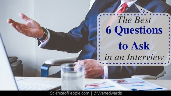 best questions to ask in an interview