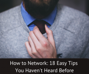How to network