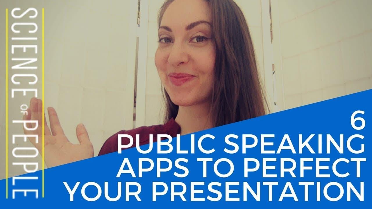 Public Speaking Apps